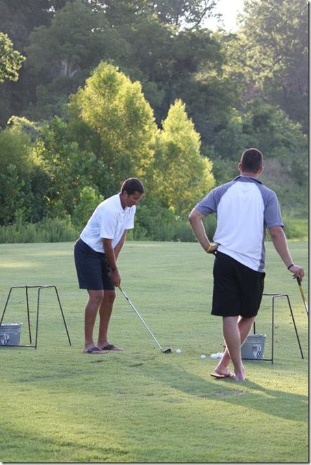 cape meade golfing