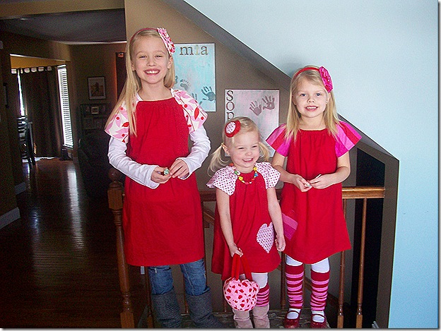 Haus Of Girls Three Little Red Valentine S Day Dresses