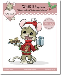 A216_HenryChristmasMouse