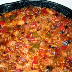 Italian Sausage and Bell Pepper Paella