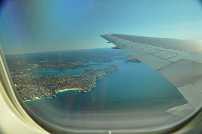 last view of Sydney, AU en route to Auckland, NZ