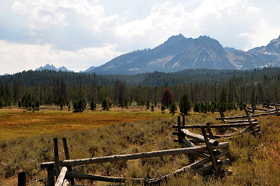 Sawtooth Mountain range