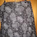 Grey Flowery Sidonie Skirt