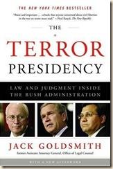 Goldsmith-TerrorPresidency