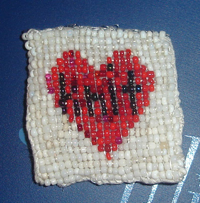 the word knit inside a heart