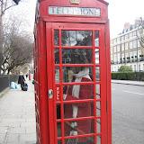 Gammal hederlig telefonhytt