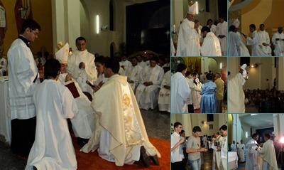Exibir Ordenação e Primeira Missa do Padre Manoel Raimundo