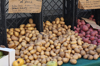 picture of potato display