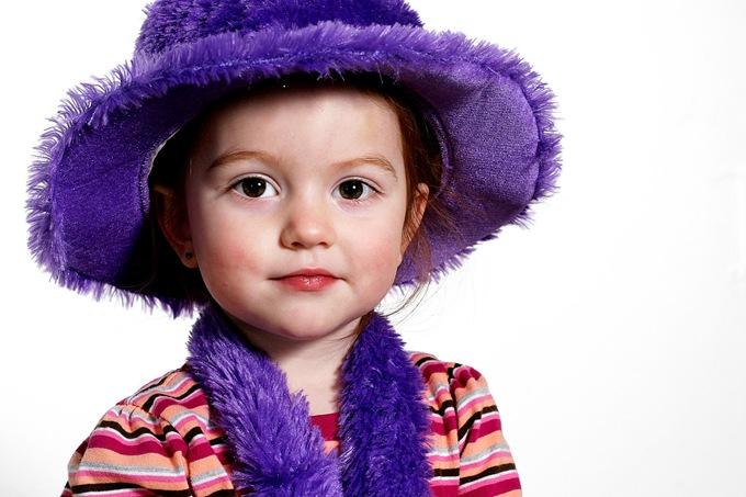 Sissy purple hat