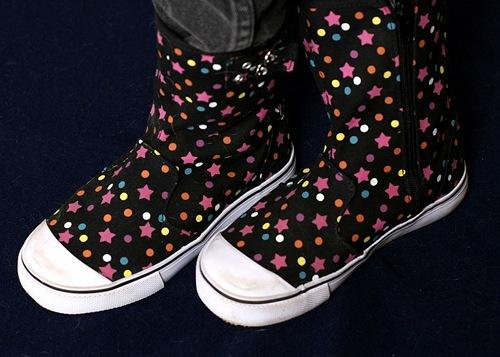 Kristi's shoes
