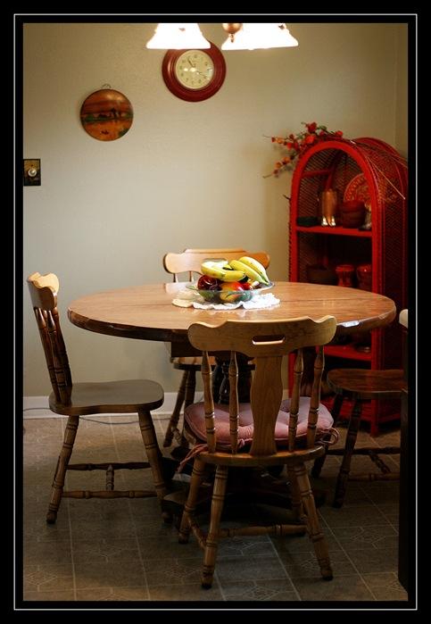 Mom's new dining set