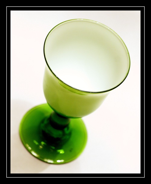 New green goblet