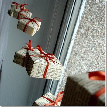 origami box ornament