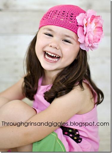 Bella's Bowtique Pink Hat 036web