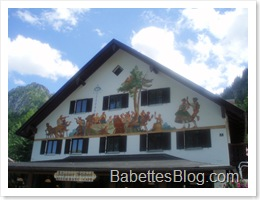 Bavarian Painted House