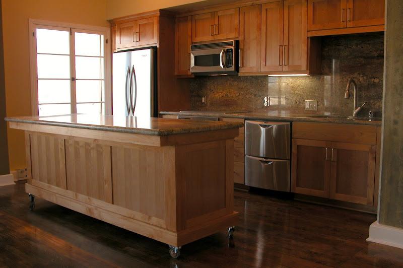 Modern Alder Cabinets