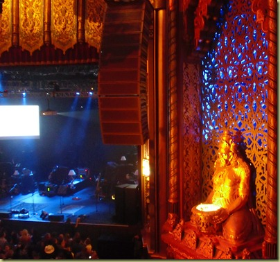Photo of the art at the fox theater.