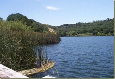 Picture of the Lafayette Reservior.