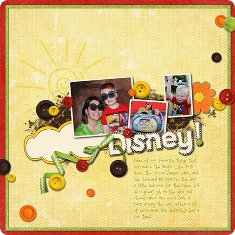 Layout by Laurel Lakey uses: Brush Set: Junk in the Trunk Here Comes the Sun Collection Biggie