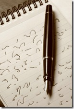 Shorthand and Fountain Pen
