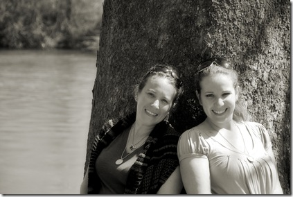 Sisters River Close BW