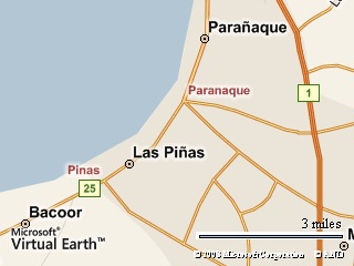 See Las Pinas? That's Where I Live!!!