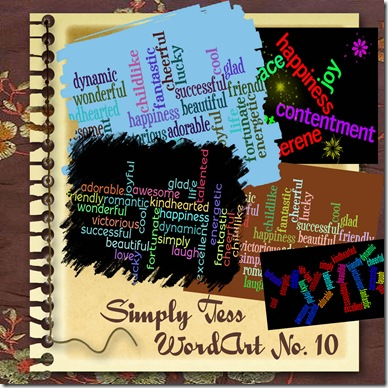 SimplyTess Wordart 10 Preview