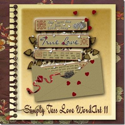 SimplyTess Love WA 11 Preview
