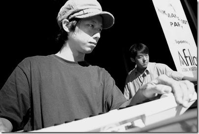 林强 and 柯智豪 @ Wikimania 20071。