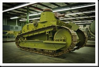 1918 US M1917 Tank