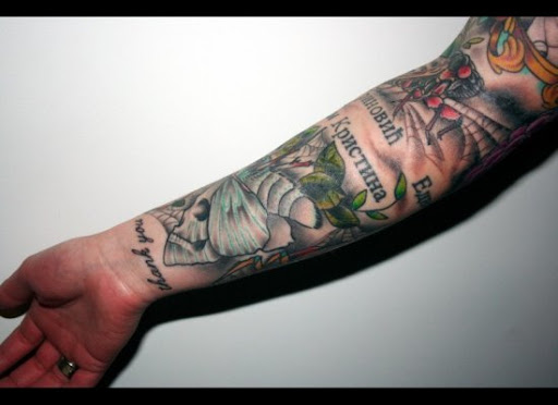 The Word Made Flesh: Literary Tattoos from Bookworms Worldwide литературные таутировки