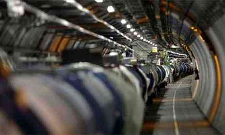 Large Hadron Collider (LHC) hovel at Cern