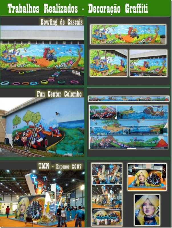 Graffiti Bowling de Cascais