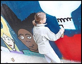 Solveig graffiti