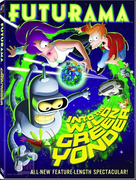 Futurama-WildGreen_DVD