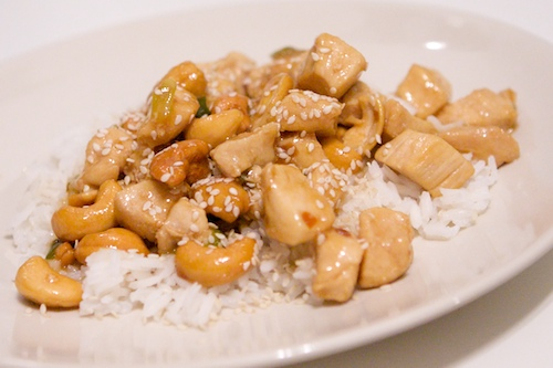 Mrs harding cooks cashew chicken cashew chicken my brother kyle has had an interest in cooking longer than i have when we were younger he watched food network and tried their recipes forumfinder Gallery