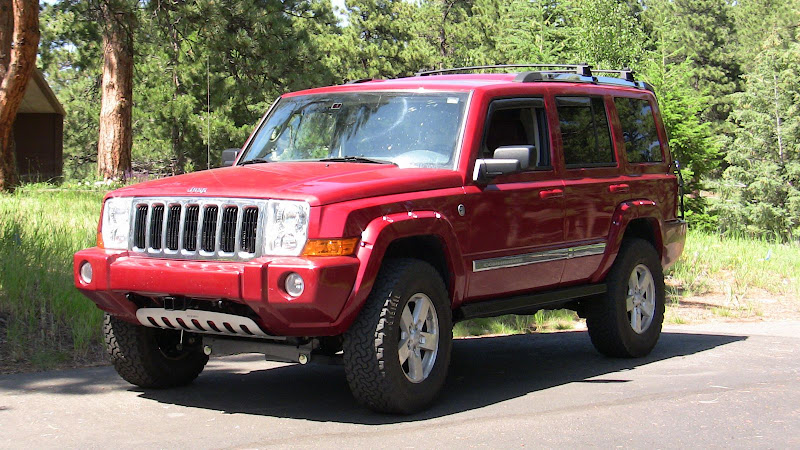 "Jeep Commander Lifted Bds 4"" lift - jeep commander"