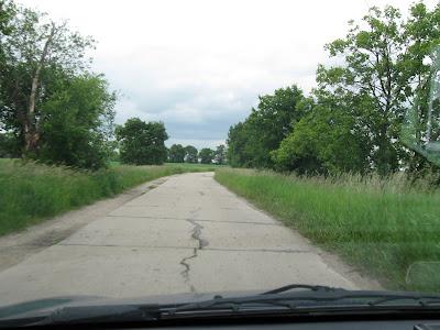 Drogi Mazury - w drodze do Mamerek