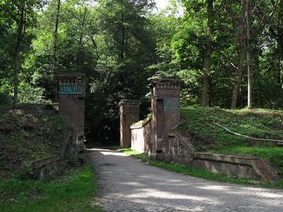 Brama obronna do fortyfikacji zachodnich