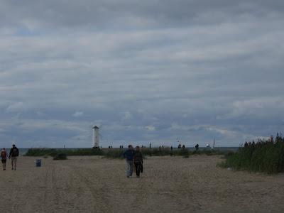 Klimatyczna plaża w Świnoujściu