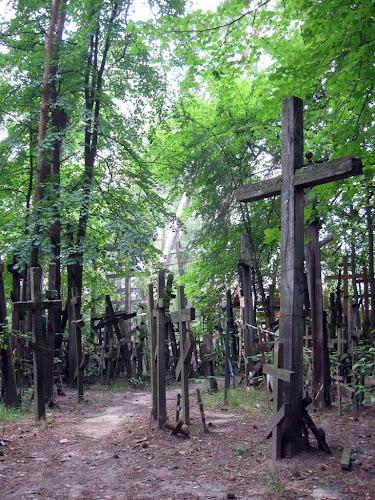Góra Grabarka - krzyże