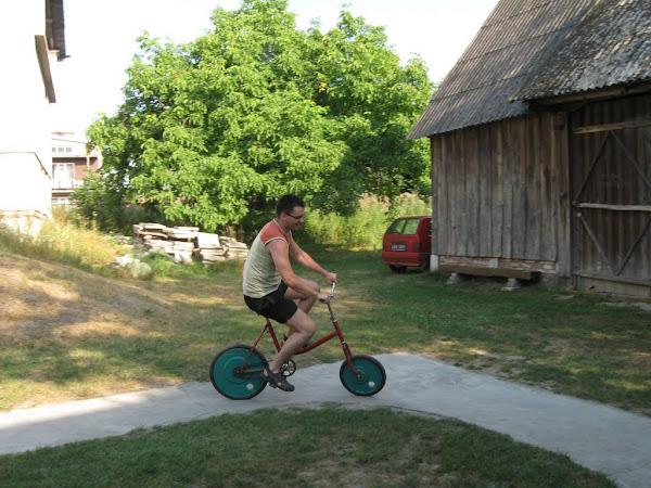 muzeum rowerów gołąb - rower galopujący
