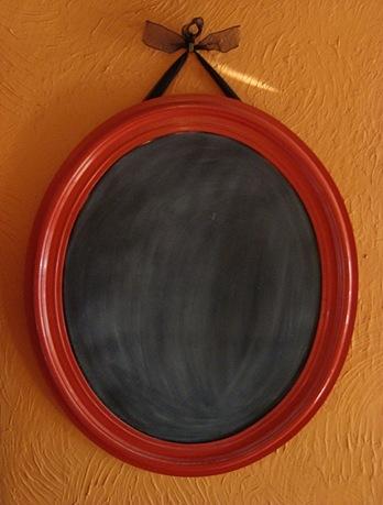 chalkboard mirror