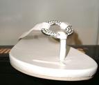 white flip flop 1