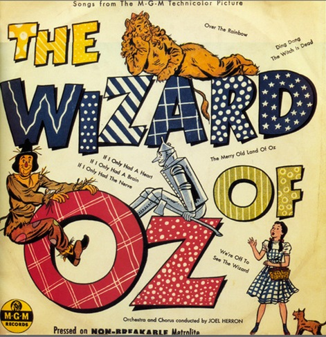 wizard of oz album cover
