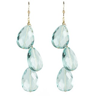 blue crystal earrings kt collection