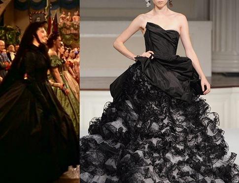 gwtw black dress
