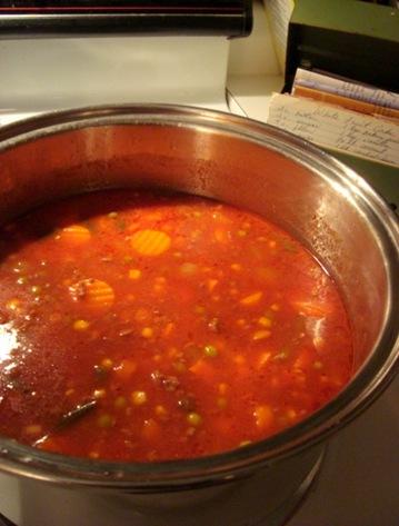 grandma's veg soup