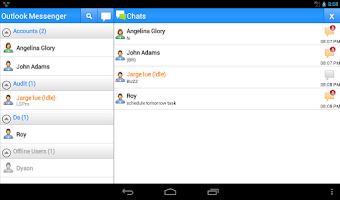 Screenshot of OMessenger