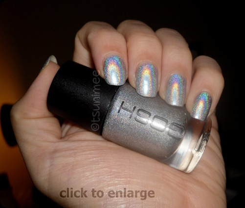 Gosh Holographic 549 Nail Polish Swatch now renamed 'one night only'